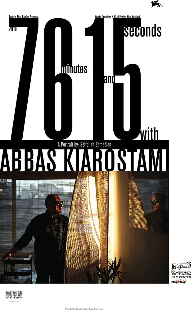76 Minutes and 15 Seconds with Abbas Kiarostami Film