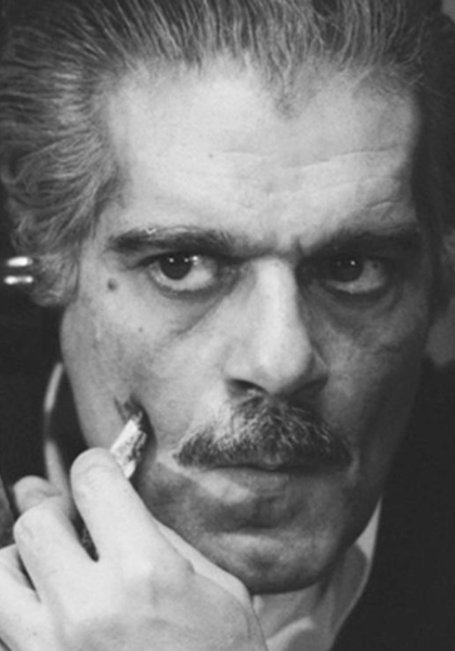 The life and times of Omar Sharif Poster